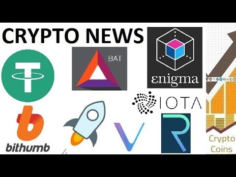 Crypto News: 18th-24th of June (Tether, Bithumb, Enigma, Stellar, BAT, IOTA, Vechain, Request)