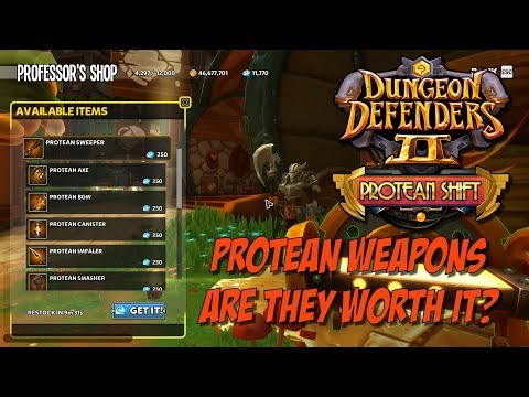 DD2 Protean Weapons – Are They Worth It?