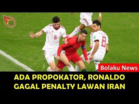 Gara-gara Ada Provokator, Ronaldo Gagal Penalty Lawan Iran