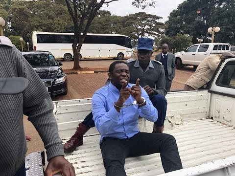 Dr Danha dragged out of the room after calling ZEC to order causing disruption of the program
