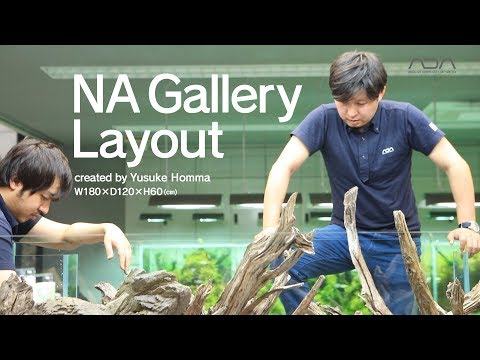[ADAview] NA Gallery Layout -W180×D120×H60(cm)-
