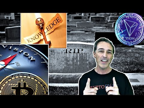 BITCOIN DUST ~ CRYPTO FUNDS & TRON MIGRATES FROM ERC20
