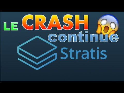 STRATIS CRASH OU enfin PUMP ?!! strat analyse technique prédiction prix crypto monnaie fr français