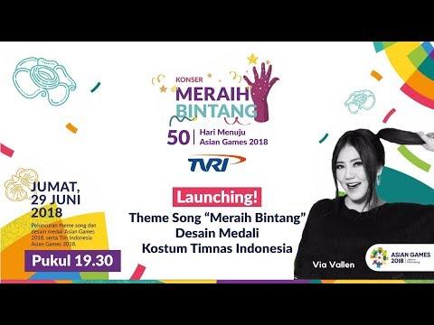 Ada Via Vallen! Konser Meraih Bintang, Launching Theme Song & Medali Asian Games 2018 #50