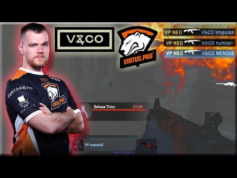Neo 1 VS 3 Clutch! Morelz Ninja Defuse! Virtus.pro Highlights VS Valiance