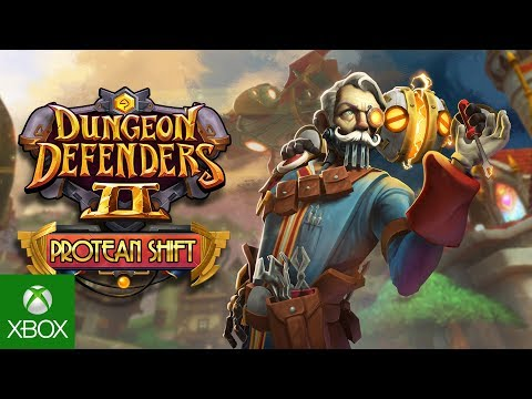 Protean Shift Release Trailer – Dungeon Defenders II