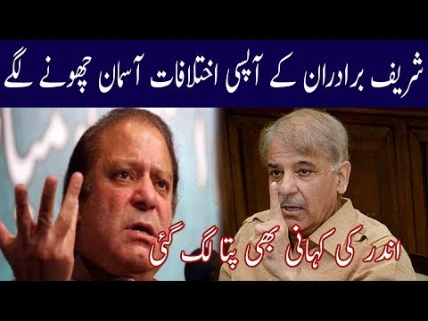New Story Open Of Sharif Brothers Relation | Election 2018 | Neo News