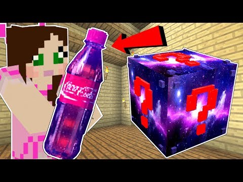 Minecraft: SPACE LUCKY BLOCK!! (CHOCOLATE NUKES, SODA, & DOGE!) Mod Showcase