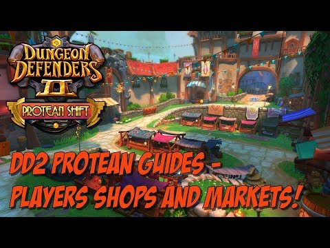 DD2 Protean Guides – Player Shop (Markets) Basics!