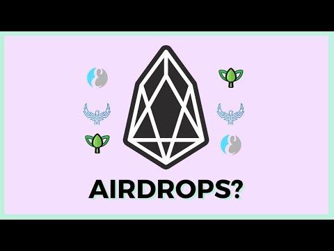 EOS Airdrops | How Do I Receive Them?
