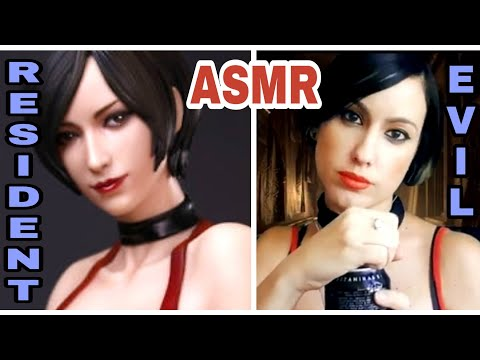 Asmr-RESIDENT EVIL ADA se declara a LEON /Roleplay – Susurros y tapping
