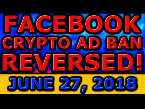 Facebook CRYPTOCURRENCY Advert BAN REVERSED! Zcash SUCCESSFUL Hard Fork! EOS Constitution ABOLISHED!