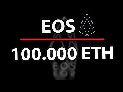 EOS Only Has 100.000 ETH Left!