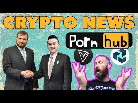 Cardano + Tron??? | $EOS Constitution Fail | PornHub Accepts $TRX and $ZEN | $NAS $NANO $BCH
