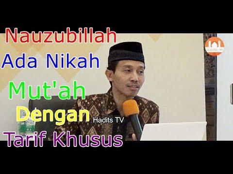 Nauzubillah….. Ada Nikah Mut'ah Dengan Tarif Khusus –  DR. Muhammad Kholid Muslih.,MA