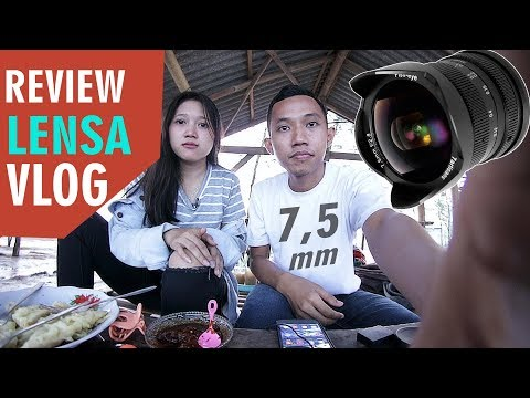 ? LENSA WIDE TERMURAH CANON EOS M50 / M10 / M3 REVIEW 7Artisan FISHEYE 7,5 MM F2.8 Indonesia