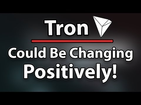 TRON (TRX) MAKING PROGRESS & MIGHT CHANGE SOON!