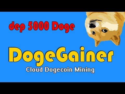НОВЫЙ DogeGainer = добываем Doge с умом!  dep 5000 doge!
