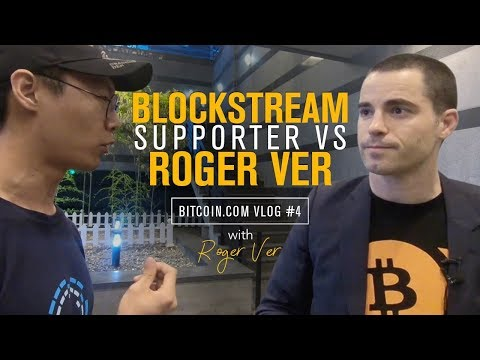 Bitcoin Debate: Roger Shuts Down Blockstream supporter in Korea | Roger Ver Vlog 4