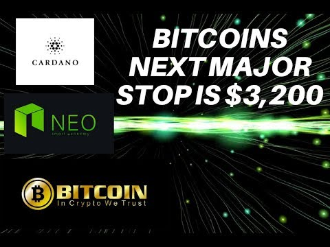 CNBC says buy NEO and ADA! BTC bottom at $3,200!
