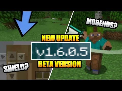 NEW UPDATE !!! MCPE V 1.6.0.5 BETA – ADA SHIELD DAN MO'BENDS ? ?Minecraft Indonesia