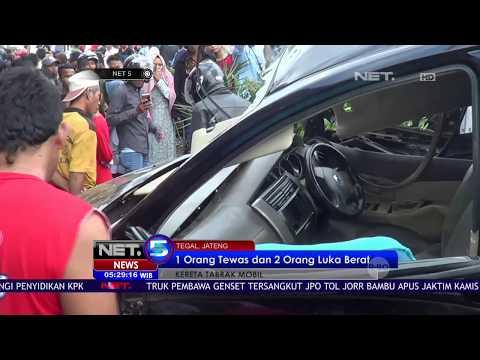 Tidak ada Palang Pintu, Sebuah Mobil Dihantam Kereta Api – NET 5