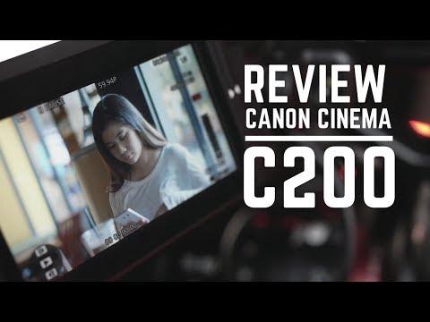 Review Kamera Kelas Sinema, MANTAP BROOH!! | Canon EOS C200 Indonesia