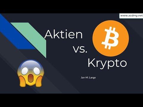 Aktien vs. Kryptowährungen! Was ist besser? ? Bitcoin, Iota und Co. vs Amazon, Google…