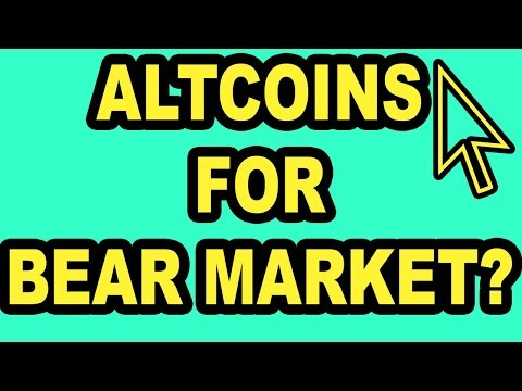 Alt-Coins I like For The Bear Market – Cryptocurrency Investing | @altcoins