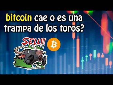 bitcoin cae o es una trampa de los toros?, cambios en EOS y otra vez Tether