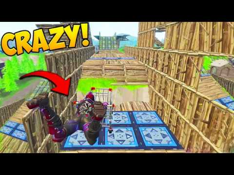 WORLD'S BIGGEST BOUNCE PAD TRACK! – Fortnite Funny Fails and WTF Moments! #241 (Daily Moments)