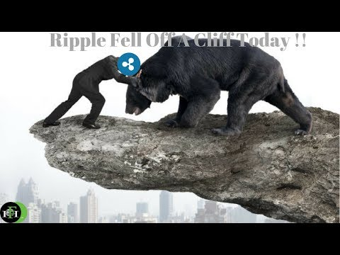 Ripple Fell Off A Cliff!!!! Will It Get Back Up?  | June 29, 2018