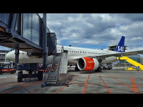 MY FIRST A320 NEO RIDE! | SAS | ZURICH-COPENHAGEN | ECONOMY CLASS