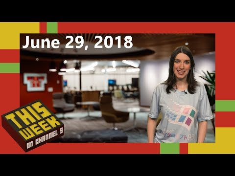 TWC9: Azure IoT Edge Goes GA, Visual Studio 2017 15.8 Preview 3, Windows 95 Phone Concepts and more