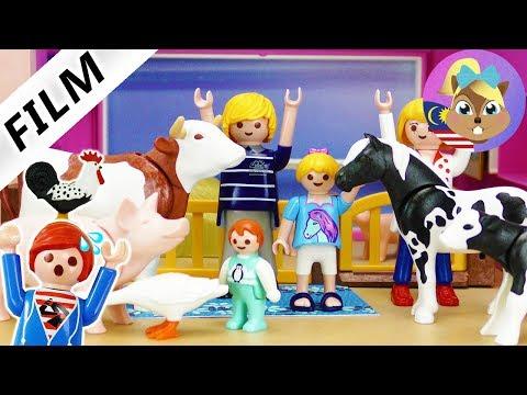 Filem Playmobil | LADANG di VILLA MEWAH? Kenapa tak ada orang tanya JULIAN? Drama kanak-kanak