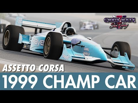 VRC 1999 CART Champ Car mod – Assetto Corsa Review (indycar)
