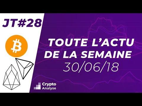 Crypto News #28 : Hausse du Hashrate et Constitution 2.0 EOS
