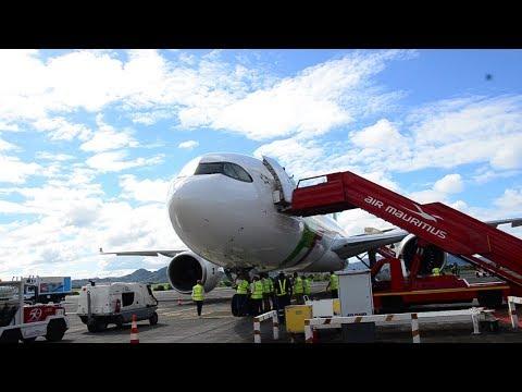 En attendant le nouvel avion de MK, un A330 Neo en escale à Maurice