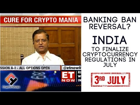 Banking Ban Reversal? India to Finalize Cryptocurrency Regulations in July – Telugu