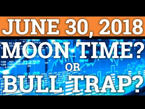 MOON TIME OR BULL TRAP? WHATS HAPPENING? NEO, VEN, ONT, BITCOIN BTC PRICE + CRYPTOCURRENCY NEWS 2018