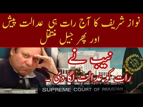 Nawaz Sharif To Appear Before Court Tonight | Neo News