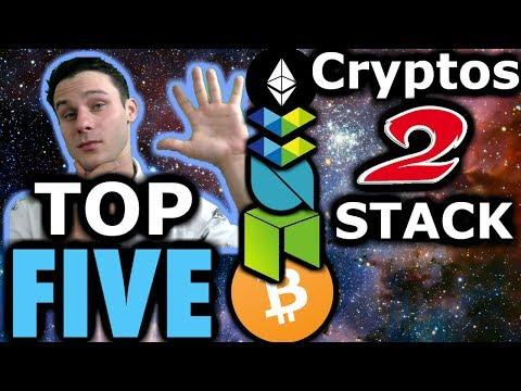 Top 5 Cryptos To Stack 🥞| $BTC $ETH $NEO $ONT $ELA | Bear Market Crypto Strategy
