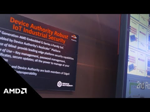 Device Authority Robust IOT Industrial Security Powered by AMD