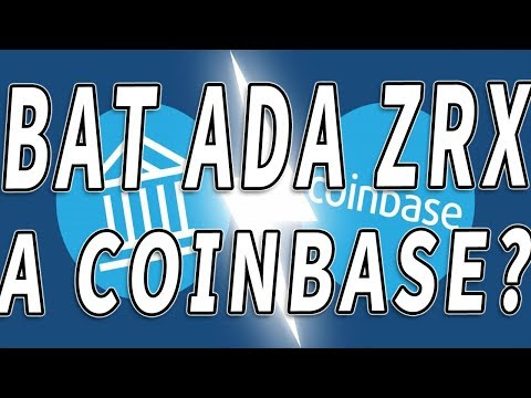 CRIPTOMONEDAS A LAS NUBES? BAT, ADA, ZRX, XLM pueden ser listadas en coinbase
