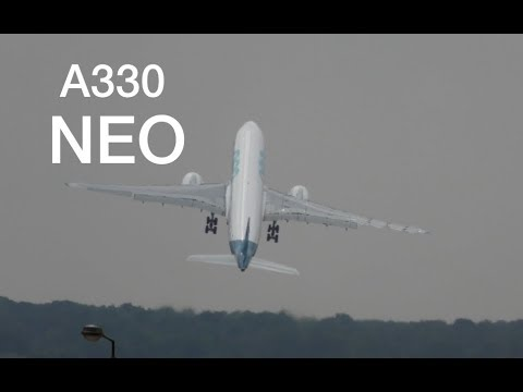 Airbus A330 NEO Sharp right turn after takeoff