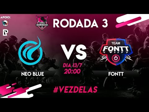 Neo Blue Vs Team Fonttl Super Liga Feminina [RODADA 3]