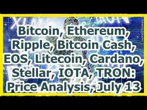 Today News – Bitcoin, Ethereum, Ripple, Bitcoin Cash, EOS, Litecoin, Cardano, Stellar, IOTA, TRON: