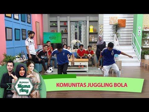 WOW!!! Ada Komunitas Juggling Bola Main Bareng Kiesha Alvaro – Rumah Mama AMY (4/7)