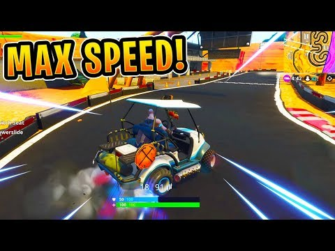 *NEW* GOLF CART RACE TRACK GAMEPLAY! (Max Drift Speed)