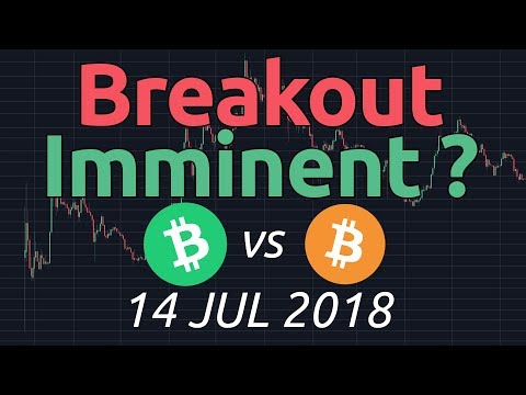 Bitcoin Cash vs BTC (BCHBTC) Breakout coming? 14 jul 2018